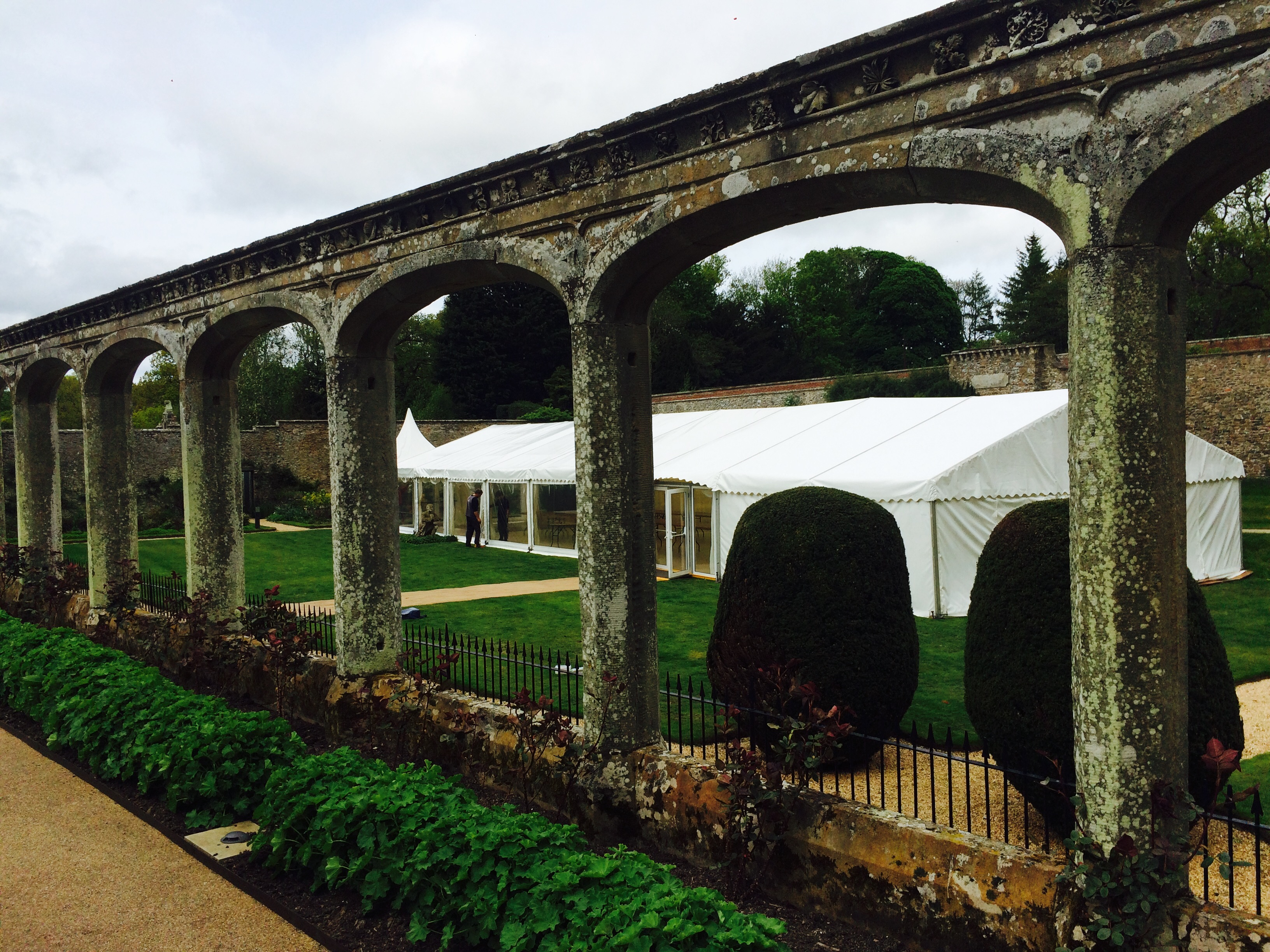marquee hire scottish borders, abbotsford